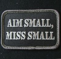 AIM SMALL MISS SMALL USA ARMY MORALE SWAT VELCRO® BRAND FASTENER PATCH