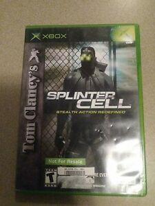 Tom Clancy's Splinter Cell (Microsoft Xbox, 2002)