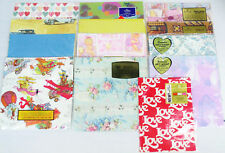 Miscellaneous Vintage GIFT WRAP Partial Packages