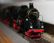 Fertigmodell Dampflokomotove BR 15 001 der DRG mit DCC Sound und Rauch von Brawa