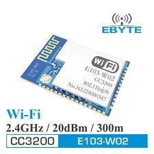 TI CC3200 2.4G E103-W02 300m 2.4GHz low power SMD wireless UART to WIFI Module