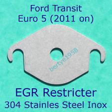 EGR Valve Restricter Plate Transit 2.2L 2.4L TDCi Euro5 2011 on. Stainless Plate