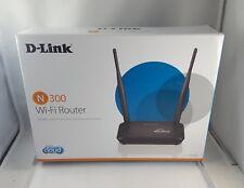 D-Link DIR-605L N300 Cloud Router 4 port 5dbi antenna FE fast Ethernet ports