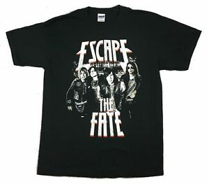 Escape The Fate At The Bar Black T Shirt New Official Band Merch