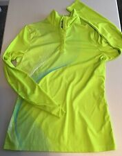 Callaway Golf Pullover Jacket Snap Buttons Size S Lime Green