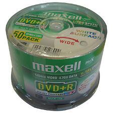 DVD+R 16X Maxell FF Printable tarrina 50 uds