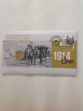 2014 - Australia 1914-1918 CENTENARY of WWI PNC