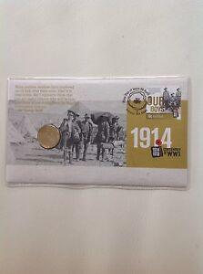 2014 - Australia 1914-1918 CENTENARY of WWI PNC