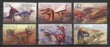 36046) POLAND 2000 MNH** Dinosaurs 6v. Scott# 3503/08