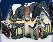Snow Village Dept 56 HIDDEN PONDS HOUSE! 54944 NeW! MINT! FabULoUs!