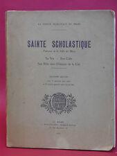 Robert TRIGER - SAINTE SCHOLASTIQUE - La sainte municipale du MANS - 1923