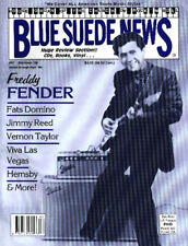 Blue Suede News 47 Freddy Fender Fats Domino Jimmy Reed