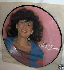 ELKIE BROOKS-OUR LOVE/NOTHING IN WORLD UK PICTU DISC 45