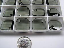 24 PIECES SWAROVSKI CRYSTAL PENDANTS  #6058 18MM BLACK DIAMOND - METRO PENDANTS