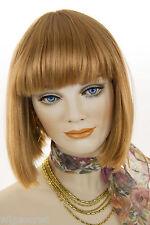 Ginger Red Medium Straight Wigs