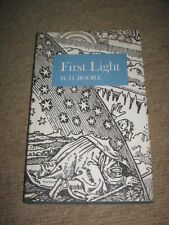 First Light by W.H. Boore HB 1st edition 1973