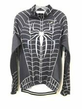 G-LIKE Black Venom Spiderman Bicycle Cycling Zip Long Sleeve Jersey & Pant XL