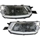 Headlight Set For 99-2001 Toyota Solara Left and Right With Bulb 2Pc