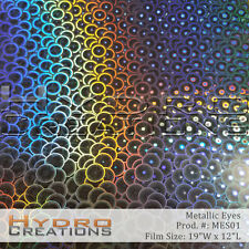 HYDROGRAPHIC FILM FOR HYDRO DIPPING WATER TRANSFER FILM METALLIC EYES