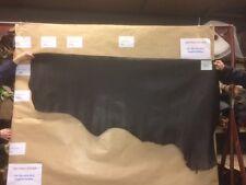 Leather Hide Di Pelle Pelle Marrone con una stampa in velluto a coste 1.5mm