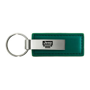 Grille Logo Leather Keychain for Jeep - AUGDP0857