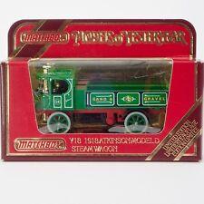 "Matchbox Models of Yesteryear Y18-2 1918 Atkinson Model ""D"" Steam Wagon OVP"