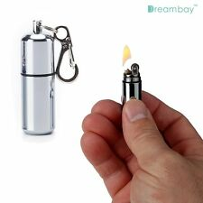 EDC Peanut Capsule Lighter Waterproof Camp Camping Survival Emergency Keychain