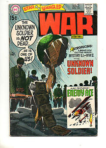 Star Spangled War Stories #151 KEY! 1ST SOLO UNKNOWN SOLDIER! Fn- 5.5 Enemy Ace