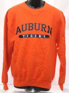 Vintage 1990s Auburn Tigers Russell Athletic Orange Crew Neck Sweatshirt Medium