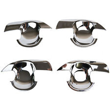 Fit For 2014-2016 Suzuki Sx4 S-Cross Chrome Door Handle Bowl Insert Cover Trim
