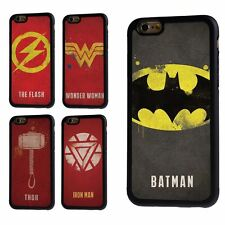 MARVEL SUPERHERO DC BATMAN IRON MAN THOR WONDER WOMAN CASE COVER FOR IPHONE
