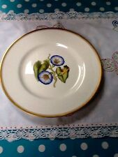 "ROYAL WORCESTER HAND-PAINTED PORCELAIN 10.5"" CABINET DINNER PLATE - CONVOLVULUS"