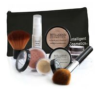 Mineral Make up Foundation 7 PCE SET Bare Natural Skin Magic Cover Pure Minerals