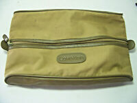 Vintage Calvin Klein canvas travel toiletry bag