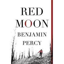 Red Moon, Percy, Benjamin, New Book