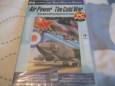 AIR POWER-THE COLD WAR PC NEW SEALED ( ADD-ON FOR FLIGHT SIM 98, 2000 & combat )