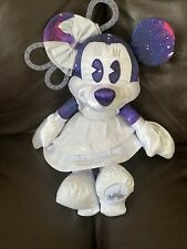 New listing Minnie mouse january month space mountain plush toy disney store limited edition