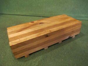 A wood load for a standard gauge trains
