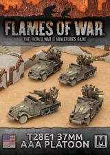 Flames of War - American: T28E1 37mm AAA Platoon UBX61