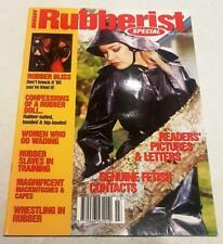 Rubberist Special Magazine No 5 From Shiny Publication Rubber PVC Latex Fashion
