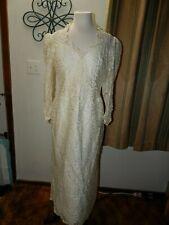 Vintage 1974-1995 Wedding Dress Size 14
