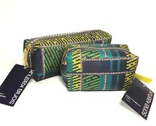 NEW Sonia Kashuk KEEP IT ORGANIZED Makeup Bag & SMALL COSMETIC CASE Plaid
