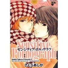 Sensitive Pornograph YAOI BL Manga / SAKURA Ashika
