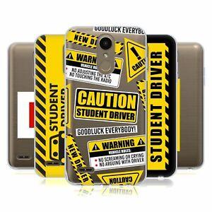 HEAD CASE DESIGNS STUDENT DRIVER SIGNS SOFT GEL CASE & WALLPAPER FOR LG PHONES 1