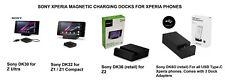 Genuine Sony Xperia Magnetic Charging Dock DK30 Z DK32 Z1 & Compact DK36 Z2 D