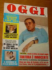 OGGI 1984/11=MOSTRO LEFFE=SYLVIE VARTAN=LINA SASTRI=GIANNA BERETTA=PIROMALLI=