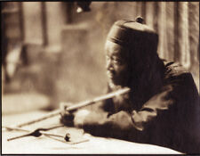Vintage Photographic Still from a Silent Film (Chinese Figure)