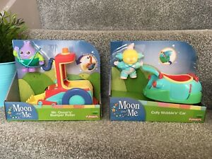 NEW Moon & Me Mr Onion's Bumper Roller Colly Wobble's Car Figures Toys Set GIFT
