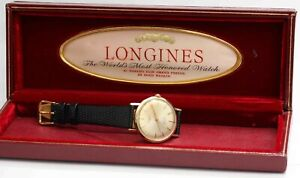 1960s vintage LONGINES AUTOMATIC ADMIRAL MEN'S WRISTWATCH - Excellent Cond.