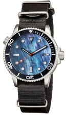 Deep Blue Master 1000 Foot Diver Automatic Mother of Pearl Dive Watch